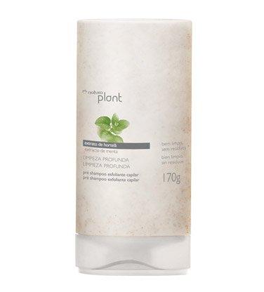 Linha Plant (Limpeza Profunda) Natura - Pre Shampoo Esfoliante Para Todos Tipos de Cabelo