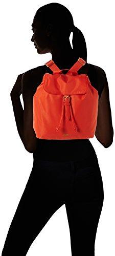 Bree - Barcelona Nylon 295016, Borsa a mano/zaino Donna Orange (Coralle)