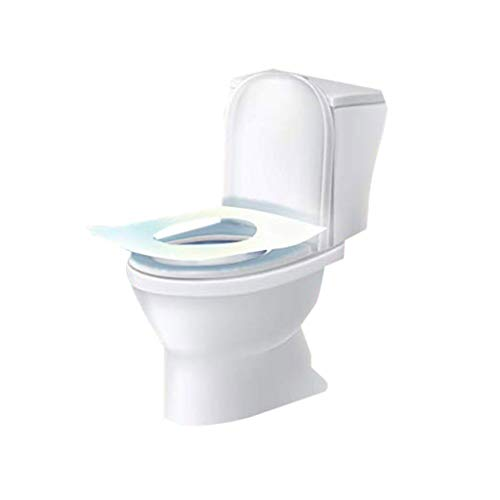 5 Packs Toilet Cushion,Fheaven Disposable Paper Toilet Seat Covers Cushioned Toilet Seat for Travel (30-Count)