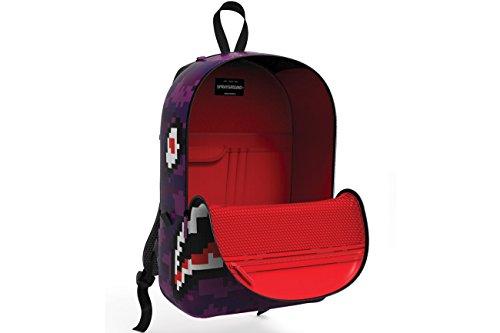 c09d95eeb8 Sprayground Digital Pixel Ocean Shark Attack School Backpack - Buy ...