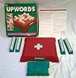 UPWORDS. 1996 PARKER GAMES. THE 3D GAME OF HIGH RISE WORD BUILDING.