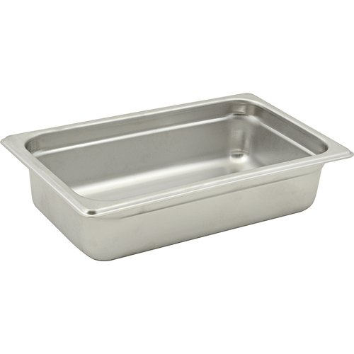 CLARK Series 2000 Steam Table Pan Fourth-size, 2 1/2