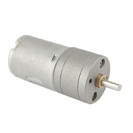 eDealMax 25mm DC 12V 40-50mA 1000RPM Torque Gear Motor Box