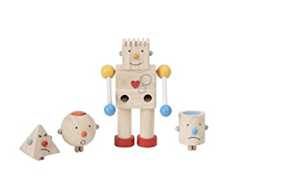Plan Toys Planpreschool Build A Robot by Plan Toys