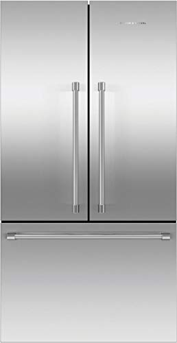 (Fisher Paykel RF201ACJSX1N Professional Series 36 Inch Counter Depth French Door Refrigerator with 20.1 cu. ft. Total Capacity, in Brushed Stainless Steel)