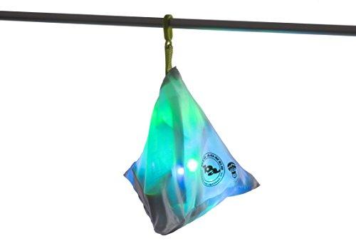 Big Agnes mtnGLO LED Tent & Camping Lights, Blue/Green
