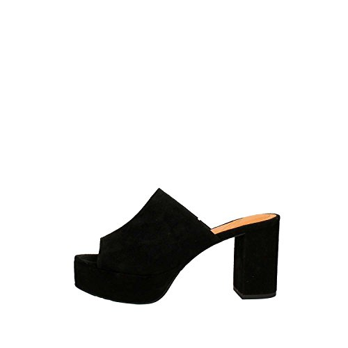 What For - Sandalias de vestir para mujer negro