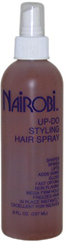 Nairobi Up-Do Styling Hair Spray Unisex, 8 Ounce (Pack of 5) by PerfumeWorldWide, Inc. Drop Ship Company