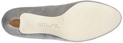 Unisa Numis_17_ks, Zapatos de Tacón para Mujer Gris (Roca)