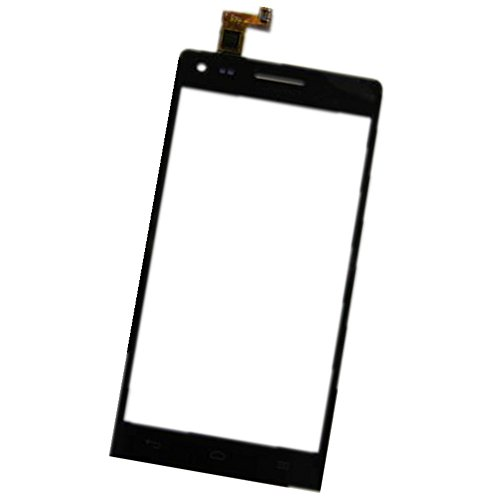 Topscreen2012(TM) Touch Screen Glass Digitizer Lens for Huawei Ascend G6 (No LCD Display) Cell Phone ~ Replacement Repair Broken Damaged Faulty Parts (Black)