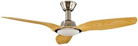 Sulion Ventilador de techo con motor DC y fuente de luz LED ...