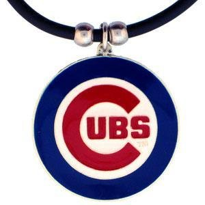 - Siskiyou MLB Chicago Cubs Rubber Cord Necklace