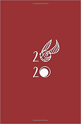 2020: Planner | Golden Snitch Theme Cover | Witchcraft ...