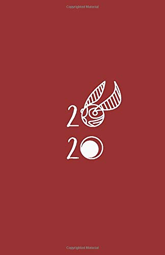 2020: Planner   Golden Snitch Theme Cover   Witchcraft ...