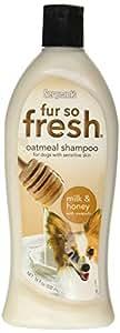 Sergeant's(R) 03805 Fur So Fresh(R) Oatmeal Dog Shampoo (Milk & Honey), 18 oz