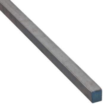 Vierkantstahl Quadratstahl Vierkant Stahl Stab Vierkanteisen Warmgewalzt Roh Schwarz 10x10mm 2000mm