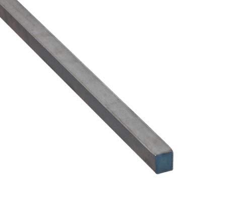 Vierkantstahl Quadratstahl Vierkant Stahl Stab Vierkanteisen Warmgewalzt Roh Schwarz 25x25mm 500mm