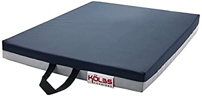 Kölbs Cushions General Use Gel Wheelchair Seat Cushion, Blue/Gray