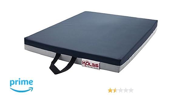 Kölbs Cushions General Use Gel Wheelchair Seat Cushion, 20 X 18 X 2 Inch