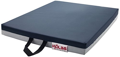 Kolbs Gel (Kölbs Cushions General Use Gel Wheelchair Seat Cushion, Blue/Gray, 14 X 14 X 2)