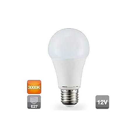 Bombilla de led 12V 11W E27 estándar 3000K 806 lm GSC 2002318: Amazon.es: Iluminación