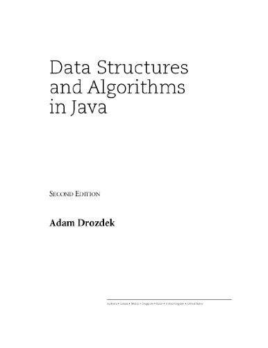 Download Data Structures and Algorithms in Java Pdf