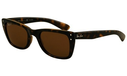81af92da9e Image Unavailable. Image not available for. Colour  Ray Ban Men S Rb4148  Caribbean Light Tortoise Frame Brown Polarized Lens Plastic Sunglasses