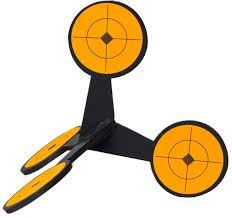 Jumping Targets AR500 Reactive Steel Shooting Target - Target Hours Location