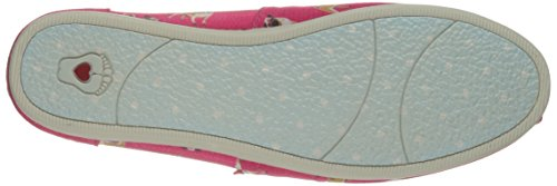 Skechers Bobs Womens Bobs Plush-Dream Doodle Ballet Flat Hot Pink Pug