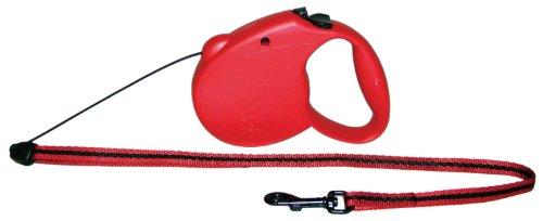 Flexi USA Retractable Lead, 1-Feet to 5-Feet, Small, Assorted colors (Dog Retractable Mini Leash)