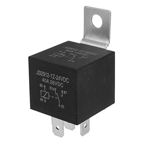 24V 5 Pins Relay Car Auto 20A/30Amp Changeover RY8 Detachable Bracket Resistor - Car Electronics Car Electronic Gadgets - 1 X 24VDC 20\/30 Amp 5 Pin Relay