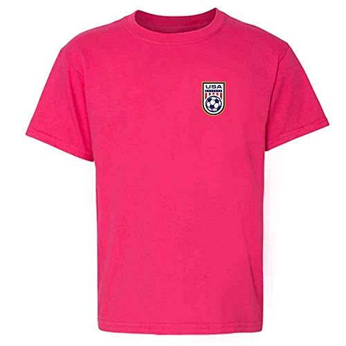 USA Soccer Retro National Team Jersey Pink 4T Toddler Kids T-Shirt