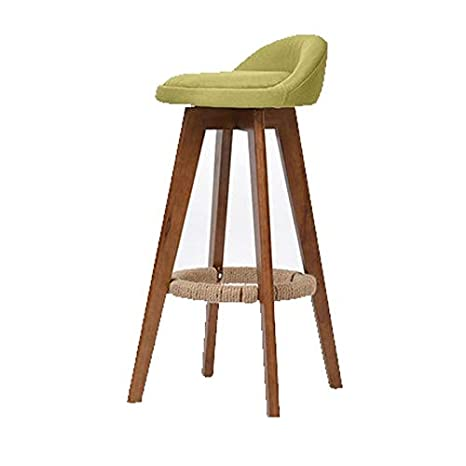 Sensational Wl Stool Modern Solid Wood Bar Stool Counter High Stool With Dailytribune Chair Design For Home Dailytribuneorg