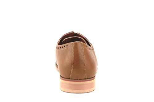 Brown Up Tone Ferro 19393LE Round Mens Lace Two Shoes Lgt Aldo Oxfords Dress Toe wqOgU