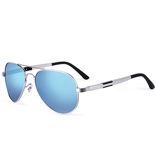 FEIDU Men Aviator Sunglasses Pilot Alloy Polarized Classic Sun Glasses Driving Sport With Case FD9001 - Polarized Sunglasses Sale