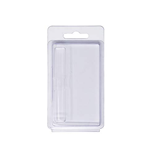 Clamshell Blister Packaging for .5ml & 1ml Cartridges - Packaging ONLY - Variety Options (Business Card Size 25 Pack)