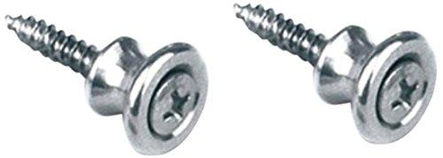 Gibson Gear PREP-020 Strap Buttons 2 per Pack, Aluminum