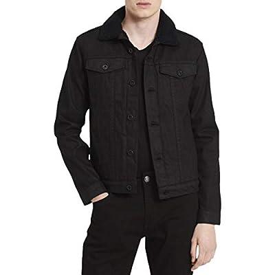 Calvin Klein Men's Denim Trucker Jacket,