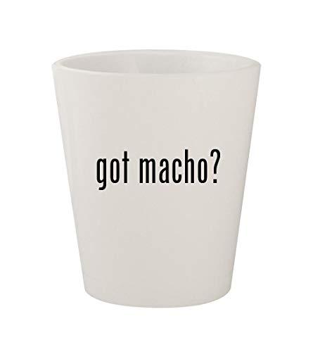 got macho? - Ceramic White 1.5oz Shot Glass ()