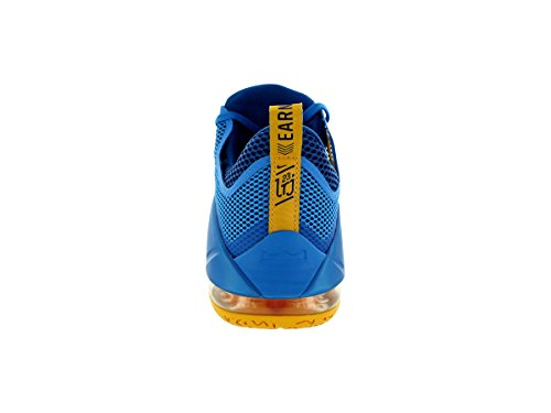 Photo Trainers 724557 Gold XII Basketball Mens Bl Nike Unvrsty Lebron Shoes Gym Blue Sneakers Low z7qBXY