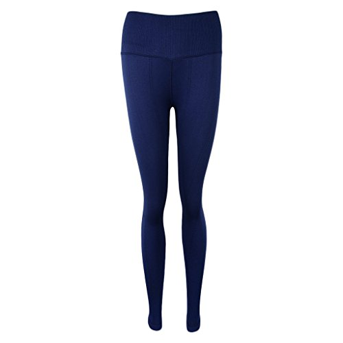D DOLITY Pantalones de Mujer Deportes Entrenamiento Gimnasio Atlético Conjuntos Ropa de Baño azul marino