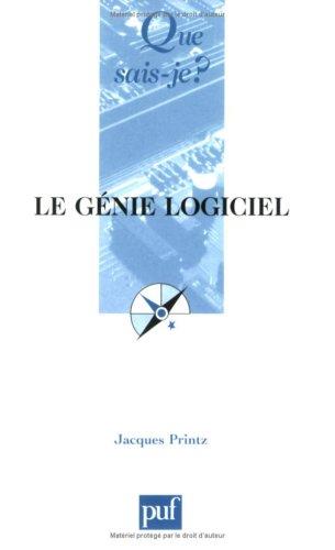 Le Génie Logiciel Télécharger Pdf De Jacques Printz Starothaistar