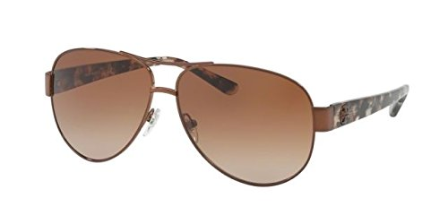 Gradient Brown Bronze - Tory Burch Women's 0TY6057 Bronze/Amber Gradient Sunglasses