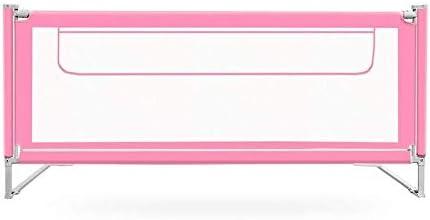 子供のためのベッドレールはツインベッドダブルクイーンとキングサイズのベッドに適し、ベッドレールバンパー、複数の色を折るとベッド手すりのサイズ (Color : Pink, Size : 1.5m)