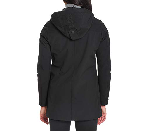 To Nero Donna Up Poliestere Outerwear Giacca Gisele1164 Be gvxqwCS