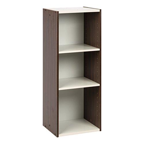 Wood Narrow Cabinet (IRIS USA, UB-9035, Space Saving Shelf with Adjustable Shelves, 14 x 34