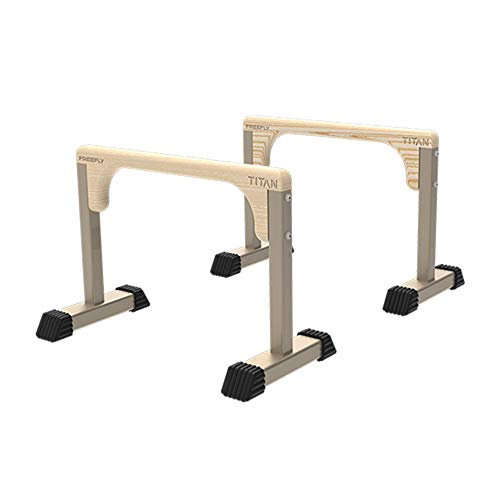 Parallettes, Parallelle staven voor thuisfitness, Dip Station Functional Heavy Duty, Dip bar Station Stabilizer…