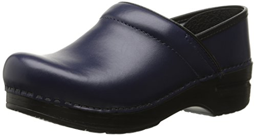 Dansko Women's Professional Mule, Dark Blue Box, 43 M EU / 12.5-13 B(M) (Dark Casual Finish)
