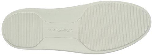 Vía Spiga Mujeres Gavra Slip On Fashion Sneaker Pavilion Grey Suede