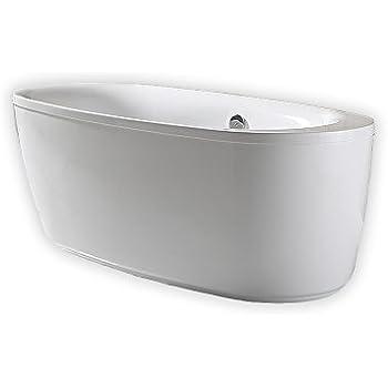 Ove Decors Leni 66 Freestanding Bathtub 66 Inch